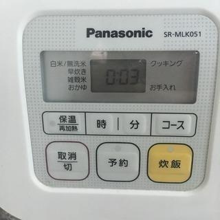 炊飯器 3合 Panasonic