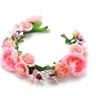 【ブライダル】花冠【ヘッドドレス】