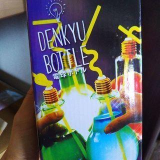 (お取り引き中)(新品未使用品)電球ボトル電池三個付