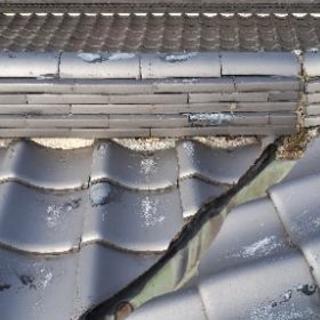 台風被害の屋根修繕承ります