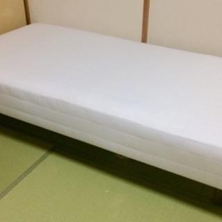 無印良品 脚付マットレス ベッド シングル