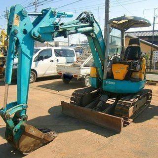 ユンボ クボタRX303 4900Hr 3トンクラス99万円(税別...