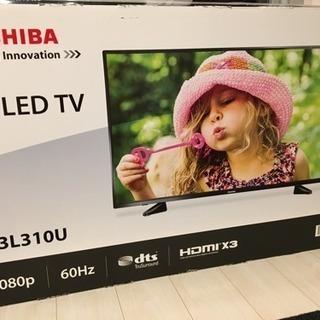 TOSHIBA 東芝 43インチ LED TV 43L310U