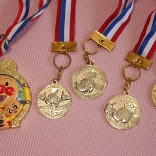 金メダル うんどうかい 運動会 おもちゃ メダル よくがんばりま...