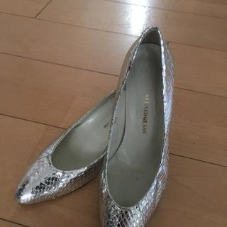 《あげます》パーティー靴22.5cm