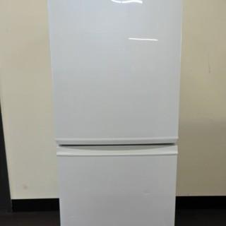 クリーニング済み♪高年式美品 シャープ冷蔵庫 SJ-D14B-W...