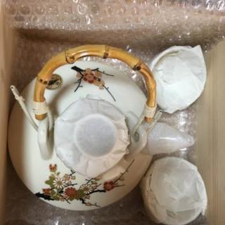 骨董品 薩摩焼 茶器 千代香
