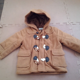 かわいい子にはかわいいコートを!BOBSON90cm