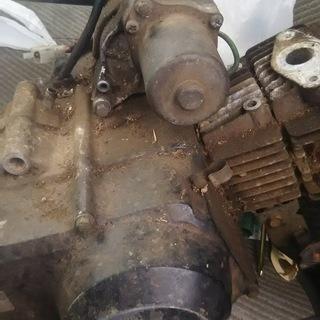 スーパーカブfi車のエンジン