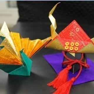 和紙で楽しむ折り紙