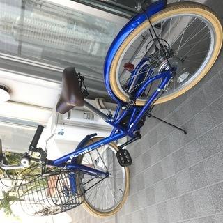 キッズ自転車 People(ピープル) 22インチ[外装6段変速...