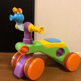 プーさん 子供用 赤ちゃん 四輪車 ペダル無し