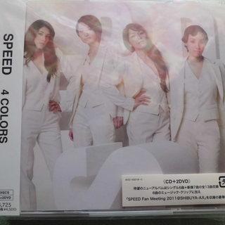 ★新品★SPEED 4COLORS CD+2DVD