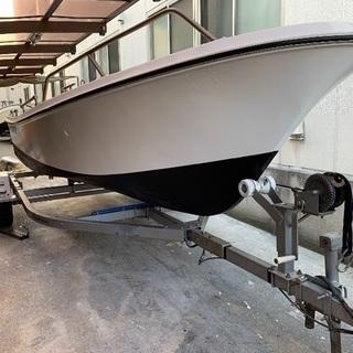 ヤマハU17F船外機ボート