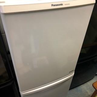 [パナソニック] 2ドア冷蔵庫 2016年製 NR-BW149C-W