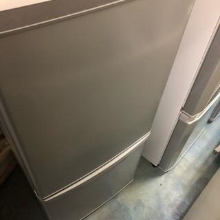 [パナソニック] 2ドア冷蔵庫 2018年製 NR-B14AW-S