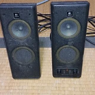 パソコン用 スピーカー 低音の方はパッシブスピーカー ロジクール...