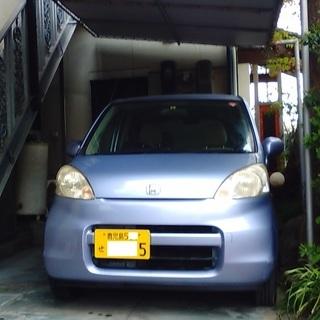 ホンダライフ低距離、屋根付き駐車保管、車検、ミニ保証付き。
