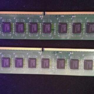 デスクトップ用メモリ 8g×2 ddr3 1600 u-dimm A-DATA製 - 大分市