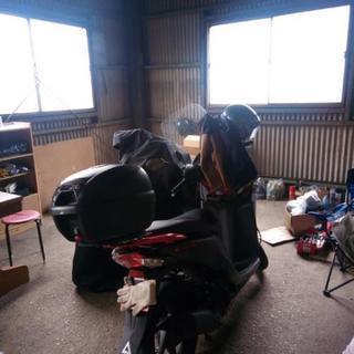 春田駅!屋内バイクガレージ 共用