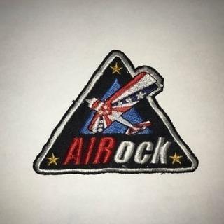 AIRock パッチ ワッペン