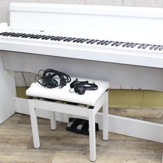 R442)【美品】KORG コルグ 電子ピアノ LP-380 2...