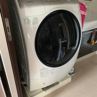 ドラム式洗濯機‼️2919年5月まで保障あり