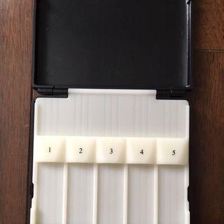 テナーサックス用リードケース 10枚収納 中古 - 楽器