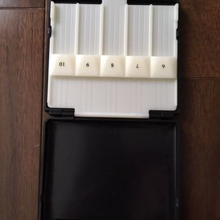 テナーサックス用リードケース 10枚収納 中古 − 富山県
