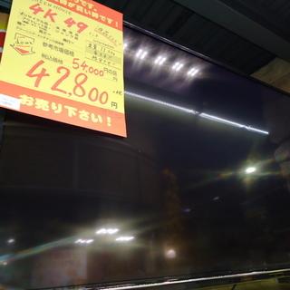 【エコプラス小倉南】グリーンハウス 4KTV 49インチ 201...