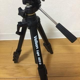 カメラ ビデオ 三脚 伸縮 4段式 velbon