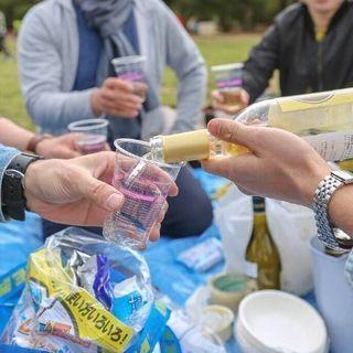 お花見ワイン会@代々木公園 〜さくらをみながらまったりゆったりワイ...