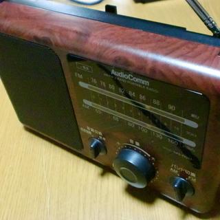 オーム電機AM/FMラジオ 《RAd-F620Z》2010年製良品