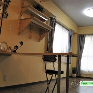 角地・角部屋で、窓が3方面(東・北・西)4か所の通風・換気に適し...