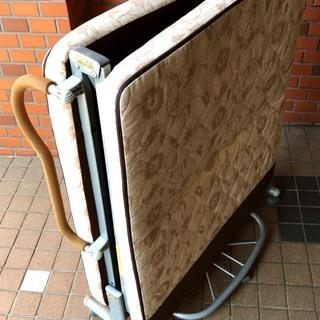 折り畳みベッド リクライニングソファー シングルベッド