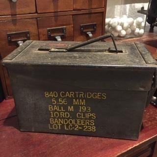 アンティーク 米軍 弾薬箱