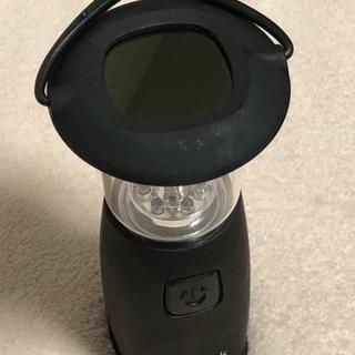ソーラー式ランプ