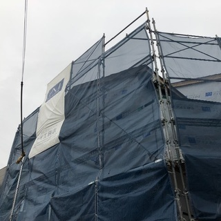クサビ式足場の組み立て解体業