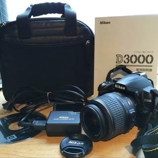 Nikon D3000 一眼レフカメラ