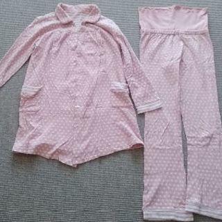 授乳用パジャマ長袖(M~L)