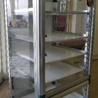 フロストドライデシケーターBG 強化プラスチック棚
