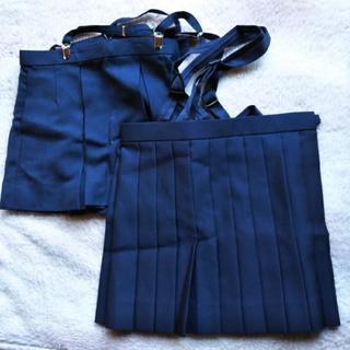 110,120サイズ    濃紺プリーツスカート