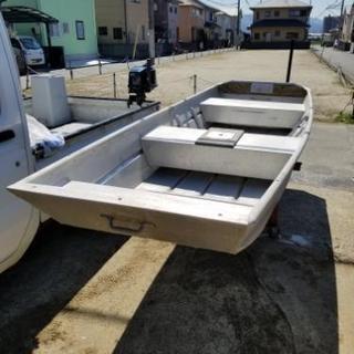 LAN DAU 1247F型 アルミボート ジョンボート