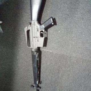 【ジャンク品】電動モデルガン  コルトM16A1 ベトナムバージョン