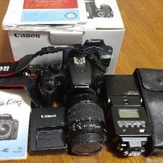 Canon EOS kissF+レンズ+ストロボ(現在取引中)