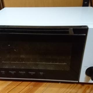 オーブントースター MT08BLV 900W 白 ニトリ 13年製