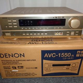 DENON デノン AVC-1550 AVサラウンドアンプ