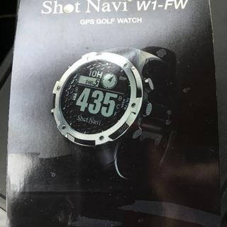 shot navi w1 fw GPS golf watch シ...