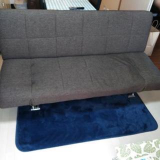 中古品 ソファーベッド 美品 ニトリ 185×117×40センチ