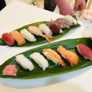 1時間で簡単寿司体験★魚を捌かず握るだけ
